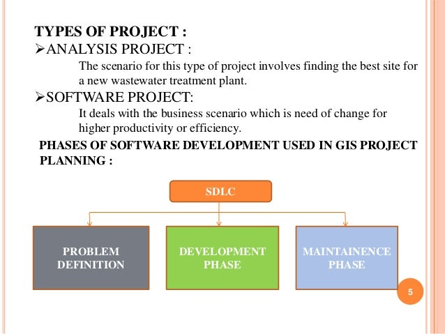 TYPES OF PROJECT : ANALYSIS PROJECT : The scenario for this type of project involves finding the best site for a new wast...