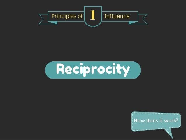Cialdini's 6 Principles of Influence  Slide 2