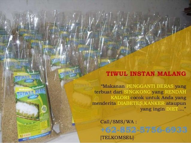 Diet dengan Nasi tiwul