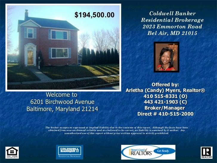 6201 Birchwood Avenue