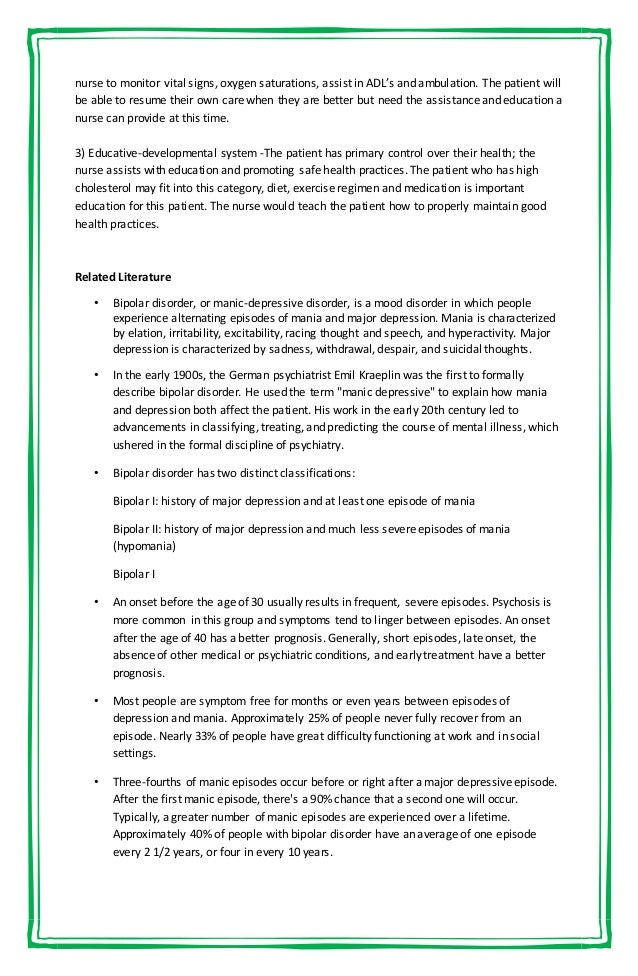 Social Work Case Study Depression - Postpartum Depression ...