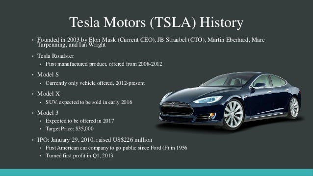 History Of Electric Cars Ppt