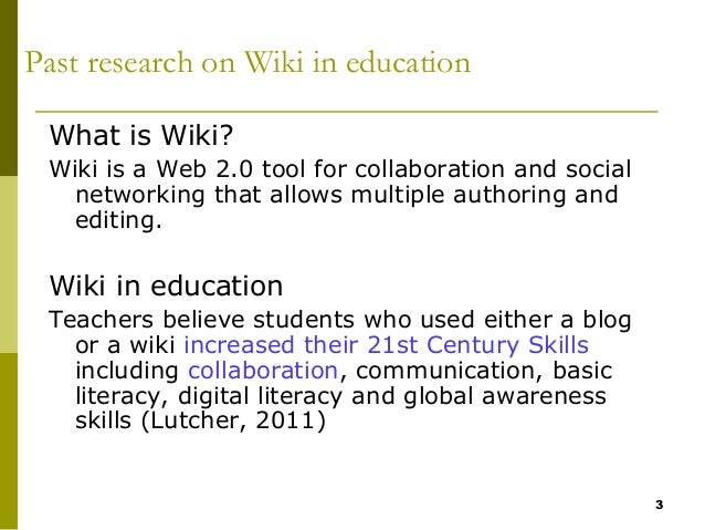 Collaborative Teaching Wiki ~ How teacher intervention affects primary student