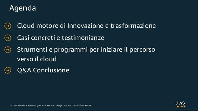 Cloud motore di innovazione e trasformazione del nord est Italia Slide 2