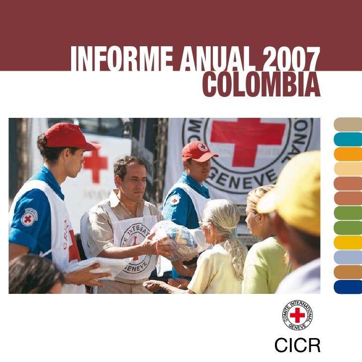 INFORME ANUAL 2007         COLOMBIA