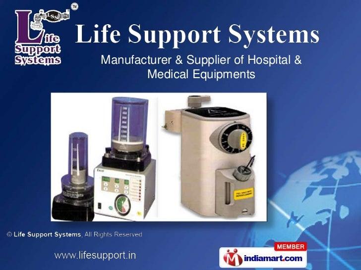 Manufacturer & Supplier of Hospital &       Medical Equipments