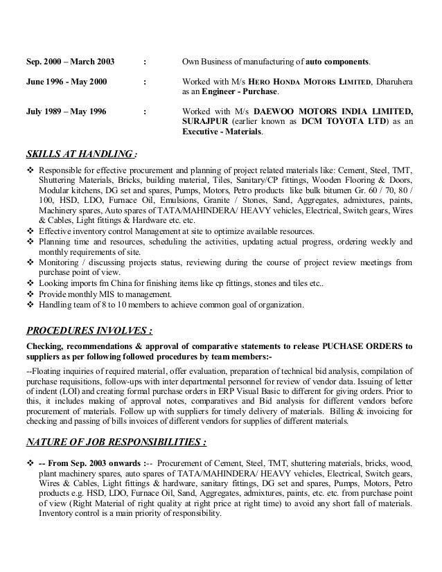 resume pankaj mittal