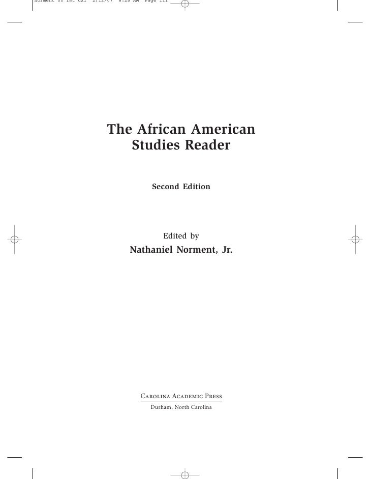 african american studies notes Major requirements, courses and faculty information about african american studies, an interdisciplinary major at bates college.
