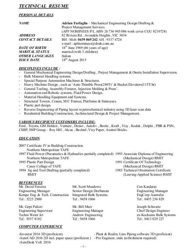 AF Resume Sept 2015