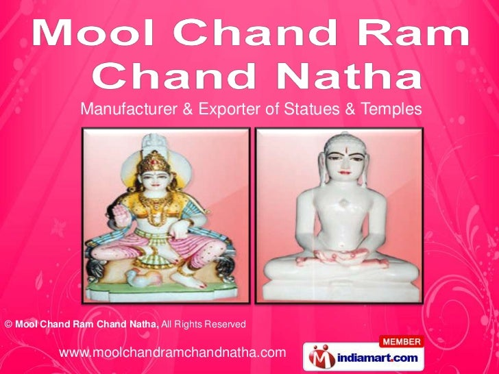 Manufacturer & Exporter of Statues & Temples© Mool Chand Ram Chand Natha, All Rights Reserved          www.moolchandramcha...