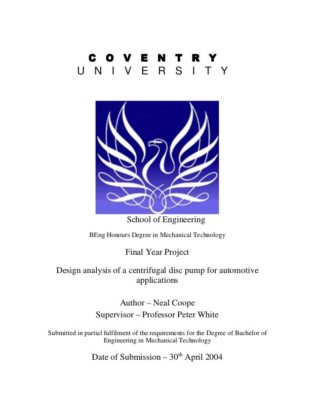 Complete Final Year Project Report Pdf