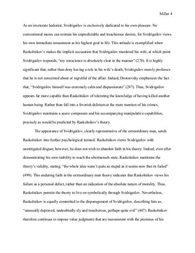 crime and punishment essay 4