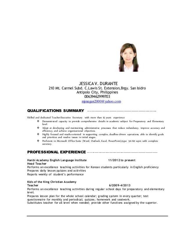 resume type wpm