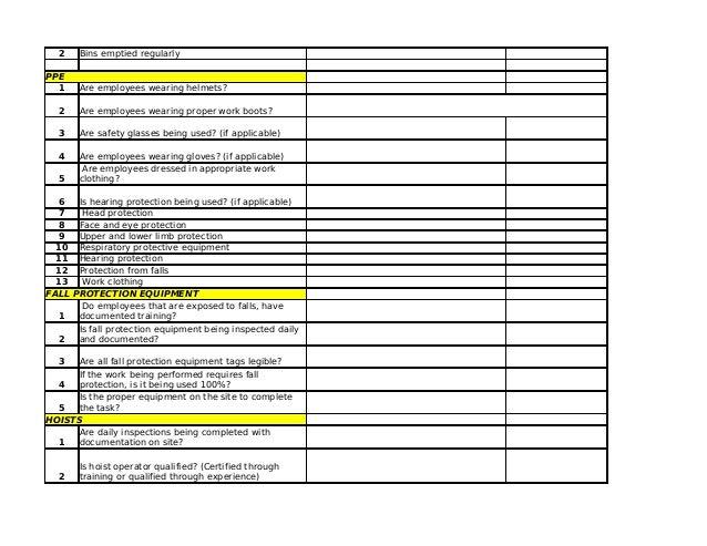 construction site checklist filetype pdf