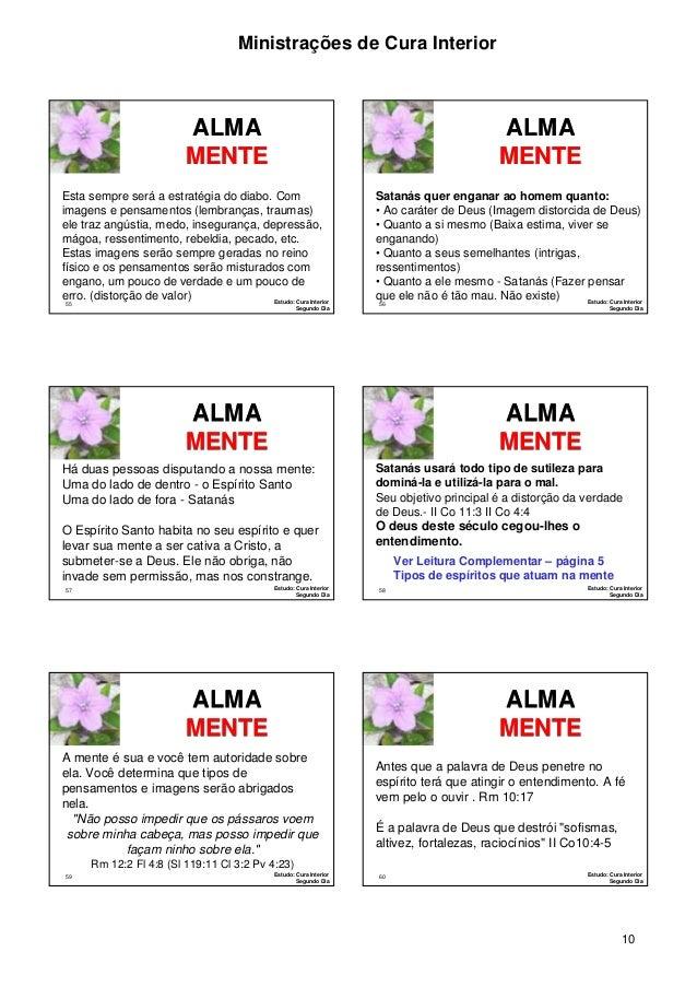 CURA INTERIOR, CURA DA ALMA: CURA INTERIOR, CURA DA ALMA (1 Livro 2) (Portuguese Edition)