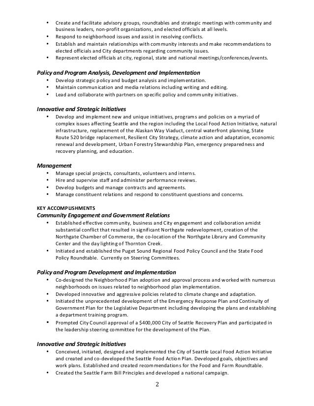 Modern Puget Sound Energy Resume Pictures - Administrative Officer ...