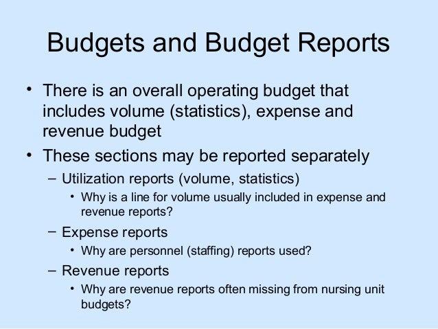 presentation 4 budgets and budget