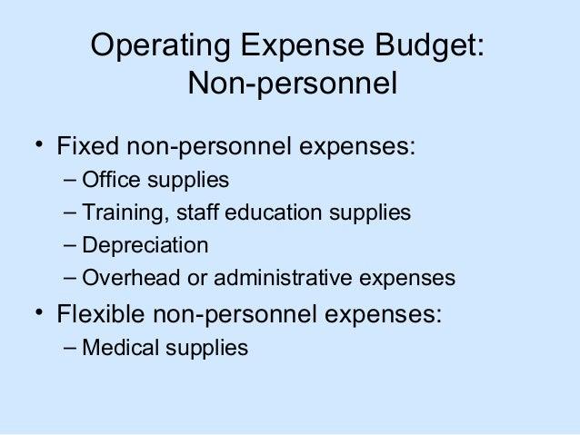 Nursing Unit Budget Reports