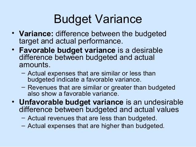 Nursing Unit Budget Variance