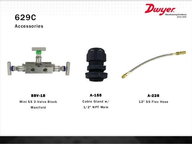 Dwyer 629C-05-CH-P2-E1-S3-3V 629C Transmitter