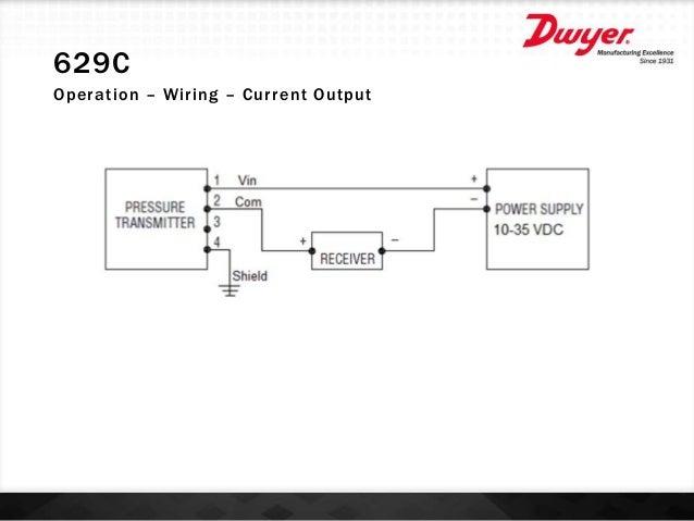 Dwyer 629C-05-CH-P4-E5-S3 629C Pressure Transmitter