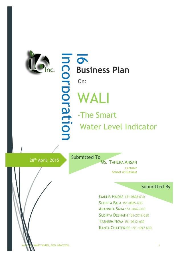 gm ahsn business plan