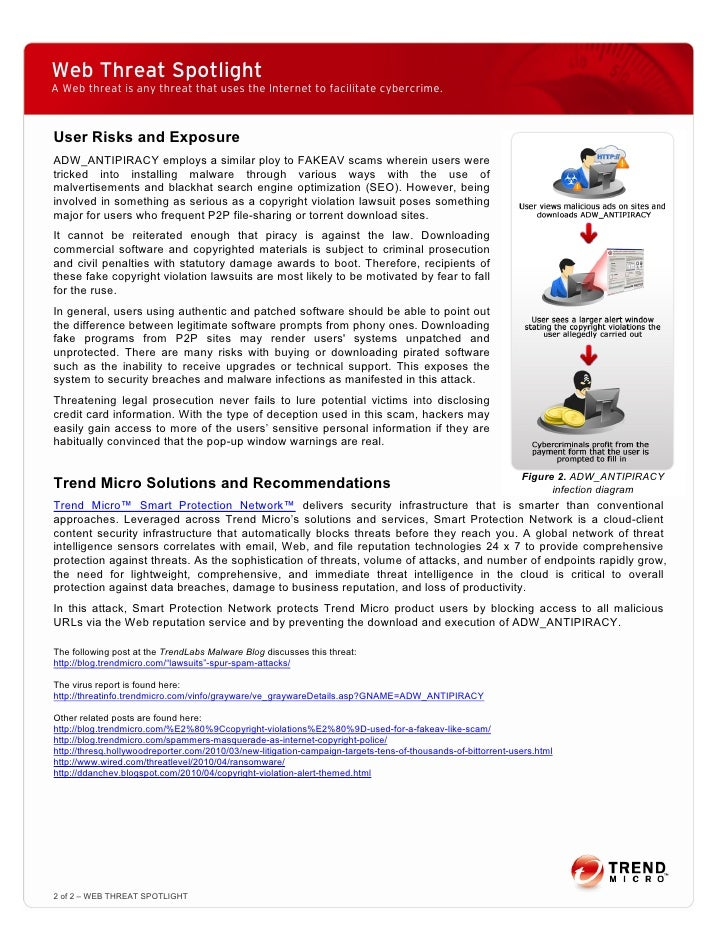 Web Threat Spotlight I62 copyright