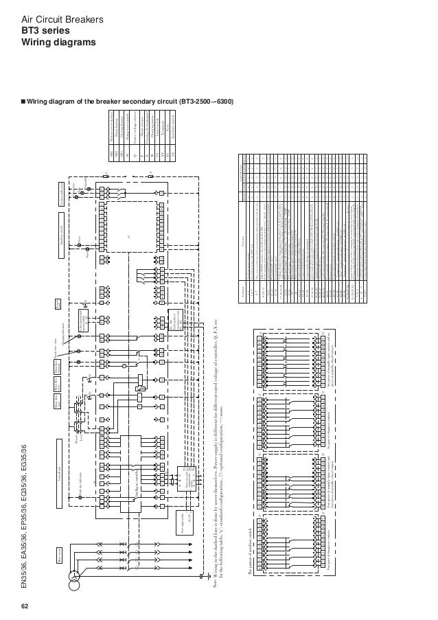 air circuit breakers bt3 series fuji electric rh slideshare net Water Pump Control Box Wiring Diagram Control Wiring Diagram Symbols