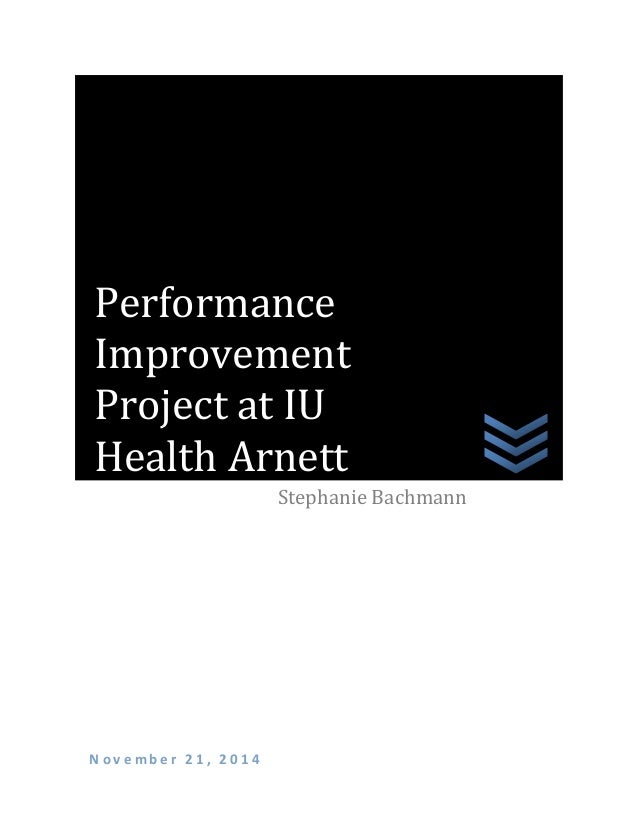 Organizational Performance Improvement Project