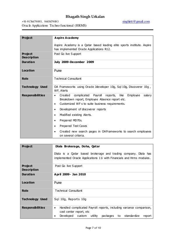 bhagathsingh resume