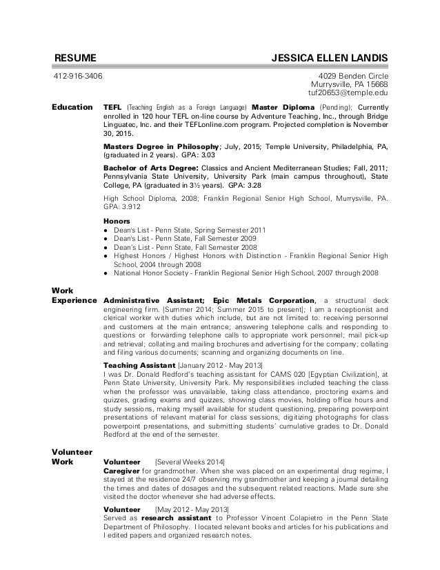 Student Resume Help Best Resume Template  Examples Of High School Resumes For College