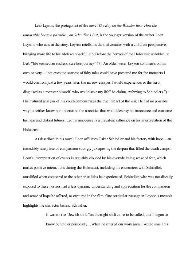 final extended essay li 5