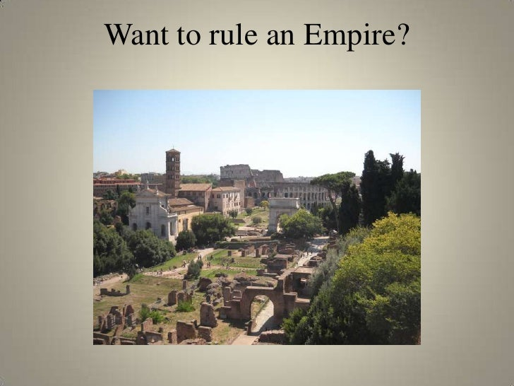 Want to rule an Empire?<br />