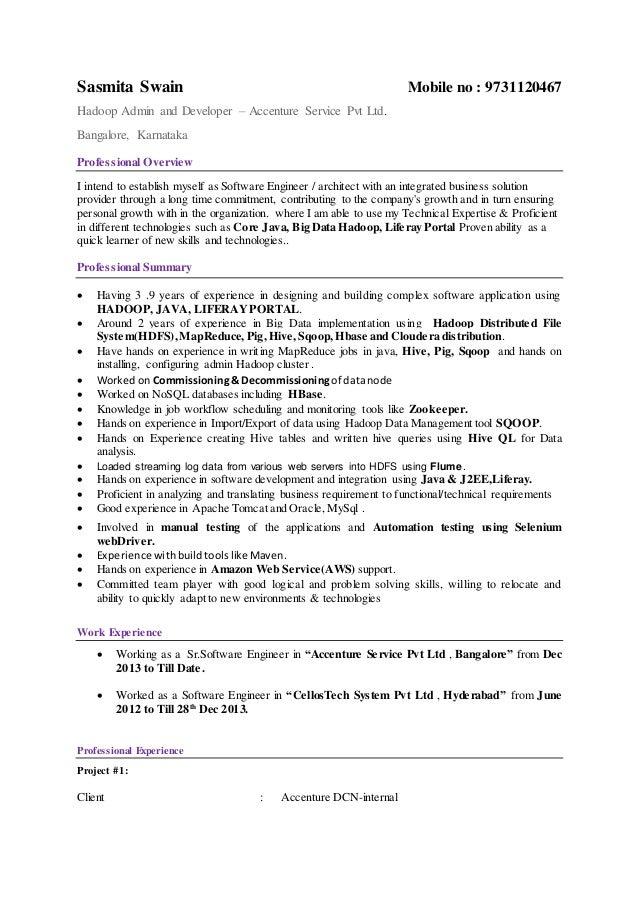 hadoop admin resume april onthemarch co