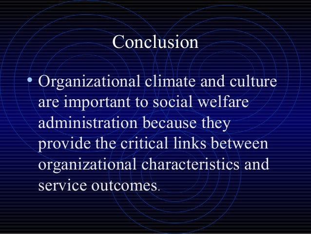 employee perception on organizational climate and Sum of perceptions of employees towards the organizations' environment is regarded as organizational climate it is very important to understand the realities based on employee perceptions also climate affects job satisfaction, which affects productivity of both individual and organization schools in rural areas and located.