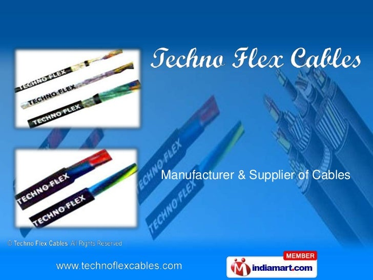 Manufacturer & Supplier of Cables<br />