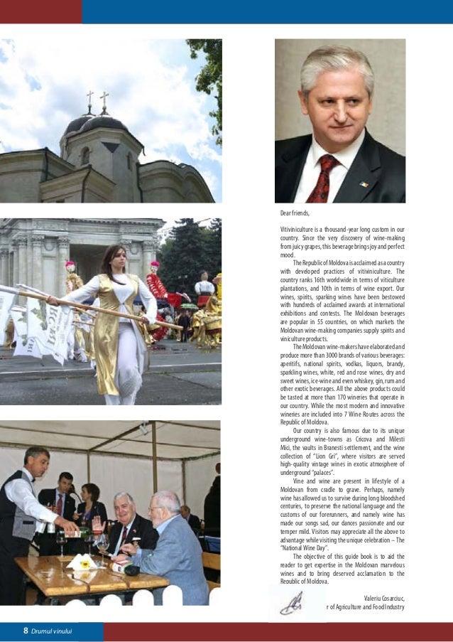 """ORHEIUL VECHI""Stauceni Village – National Viticulture             Dubasari Town – ""Bouquet of Moldavia"" S.A.and Vinificat..."