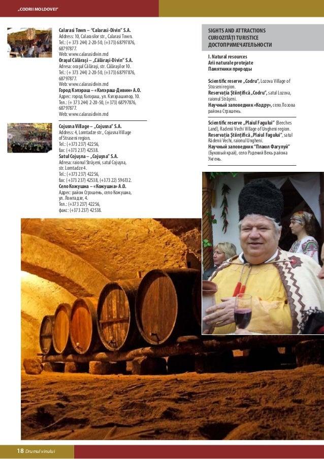 """CODRII MOLDOVEI""IV. Popular craftsmen                                  V. Balneological health resort «Codru»Meşteri popu..."