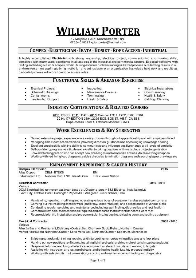 porter resume porter resume facilities maintenance worker