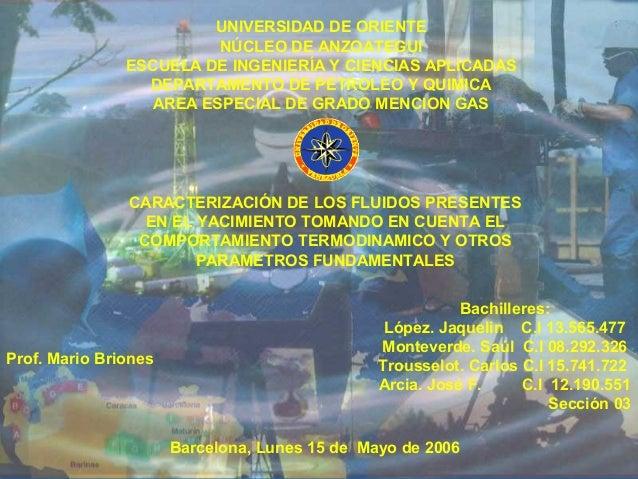UNIVERSIDAD DE ORIENTE                         NÚCLEO DE ANZOATEGUI               ESCUELA DE INGENIERÍA Y CIENCIAS APLICAD...