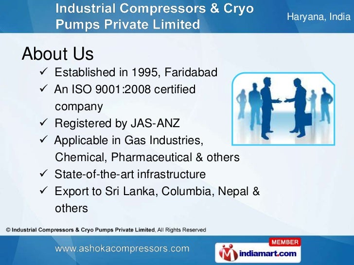 Cryogenic Pumps by Industrial Compressors & Cryo Pumps