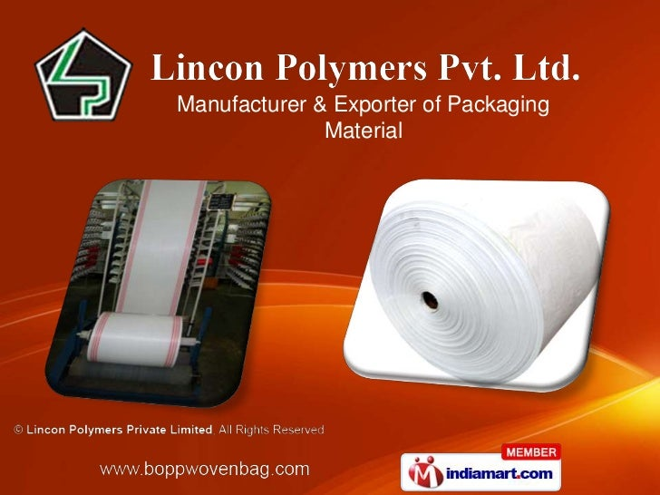 Manufacturer & Exporter of Packaging              Material