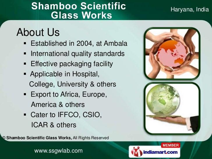 Scientific Equipment by Shamboo Scientific Glass Works Ambala Slide 2