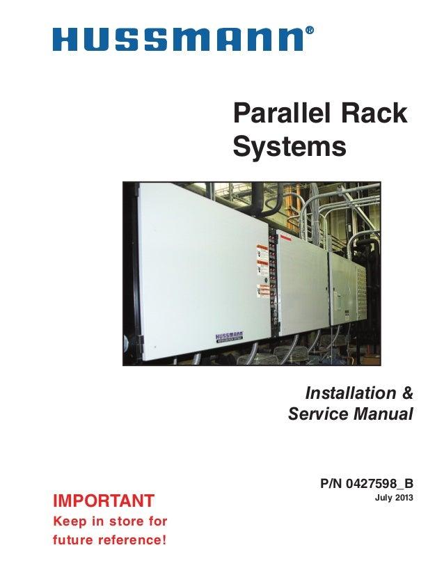 hussman rack installation manual rh slideshare net Compressor Relay Wiring Diagram Compressor Relay Wiring Diagram