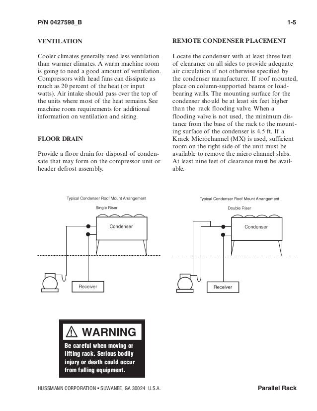 hussman rack installation manual 11 638?cb=1432203524 hussman rack installation manual hussmann rl5 wiring diagram at gsmx.co