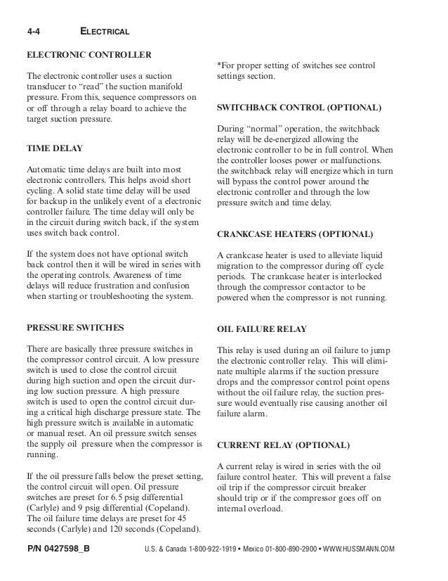hussman rack installation manual