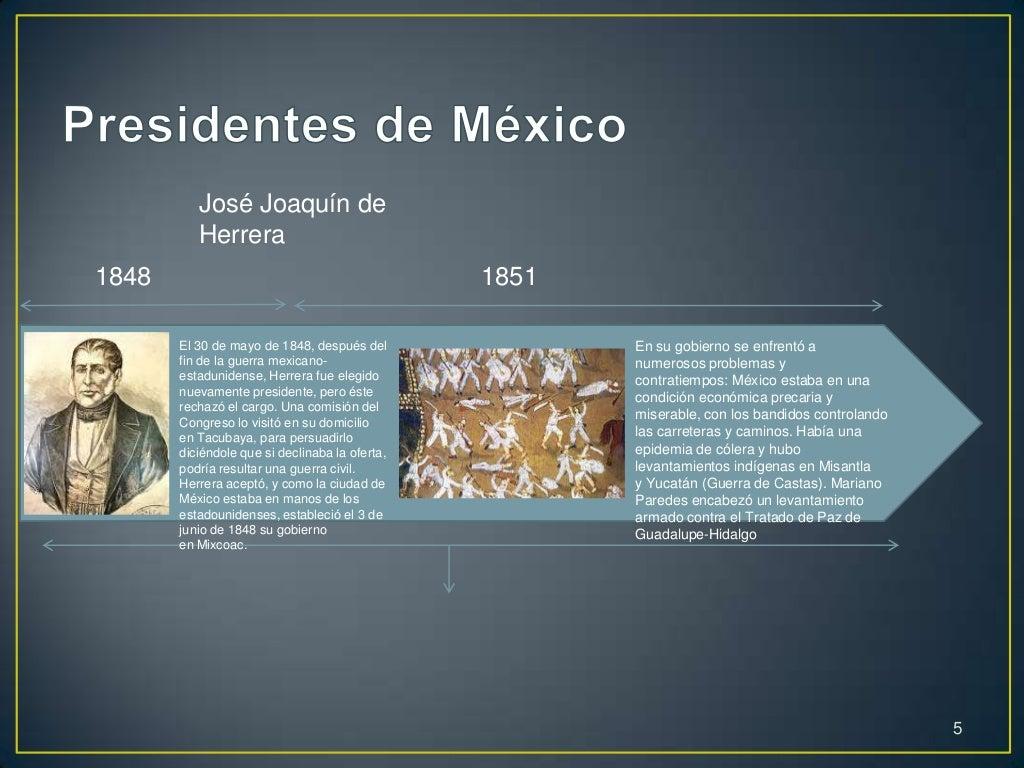 Linea de tiempo presidentes de mexico - Tiempo en paracuellos del jarama ...