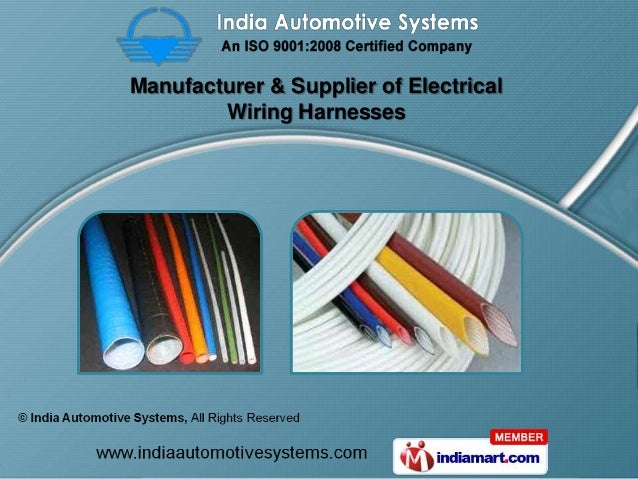 Manufacturer & Supplier of Electrical        Wiring Harnesses