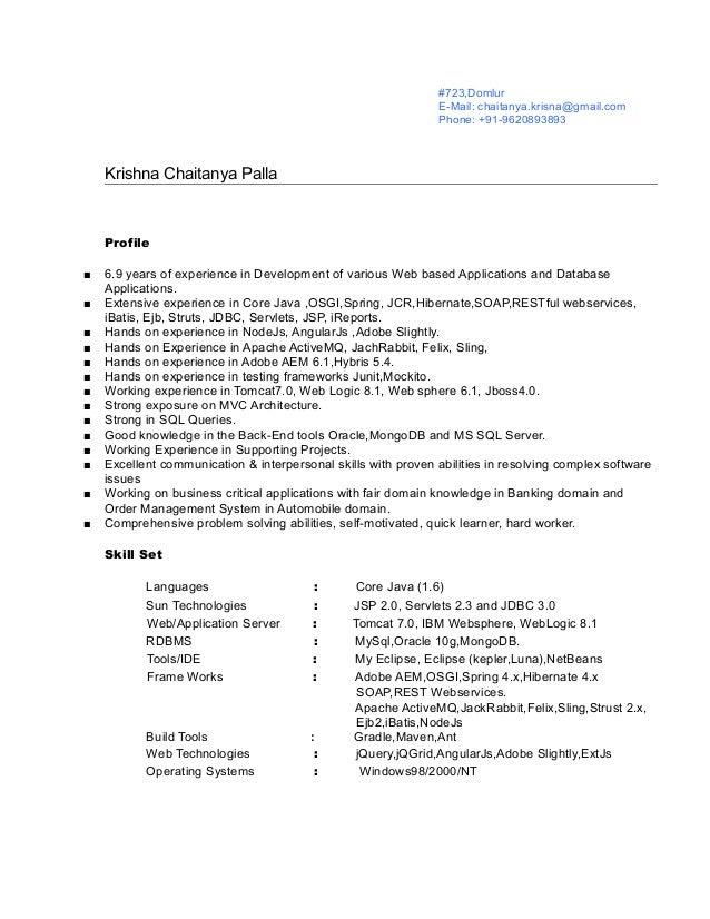 KrishnaChaitanya-Java-7 YearsExp