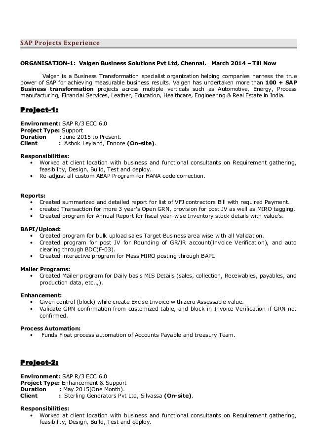 technical consultant cv ideal vistalist co